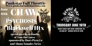 PUNK STAR RADIO presents CHAW with special guests