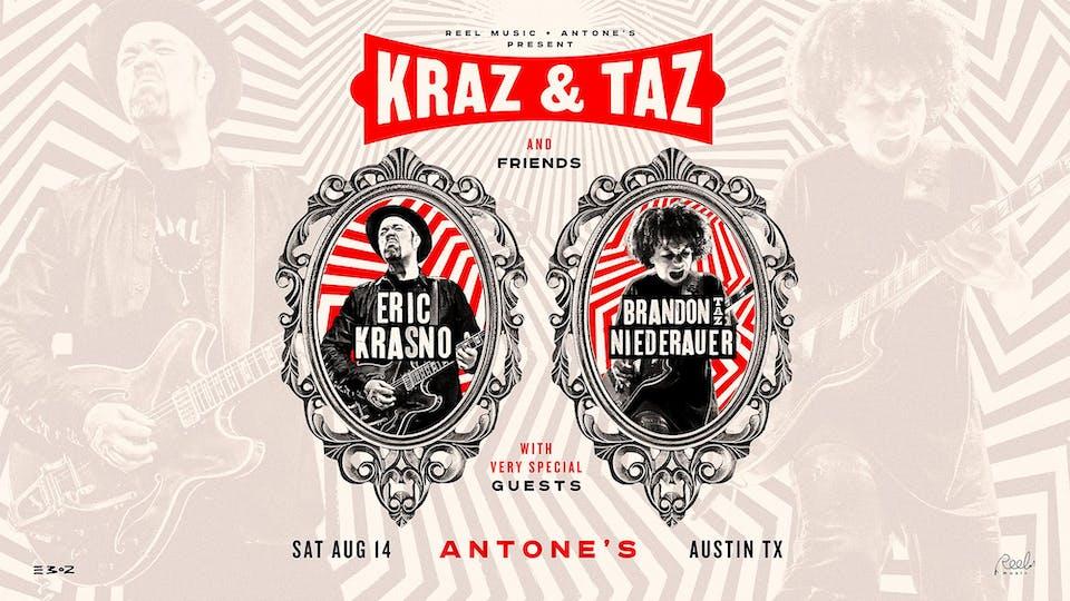 """Kraz & Taz and Friends (Eric Krasno & Brandon """"Taz"""" Niederauer - Late Show)"""