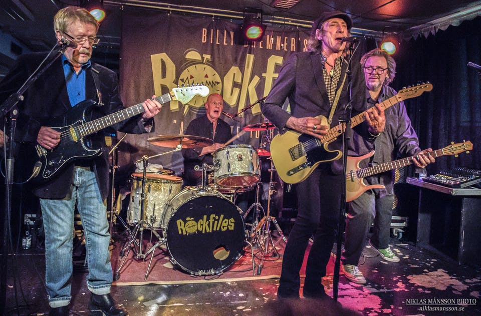 Billy Bremner's Rockfiles w/ The Krayolas