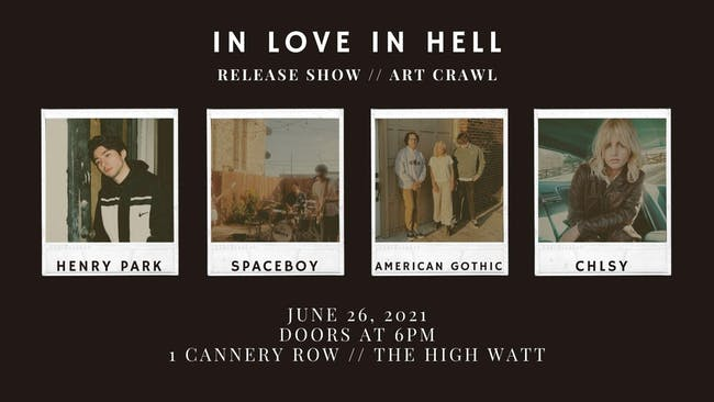 In Love In Hell: Release Show and Art Crawl