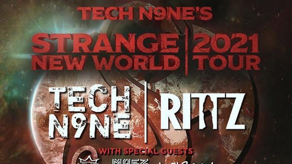 Tech N9ne Strange New World Tour