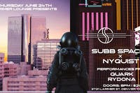 Subb Spaced / Nyquist / Quark / Rydona