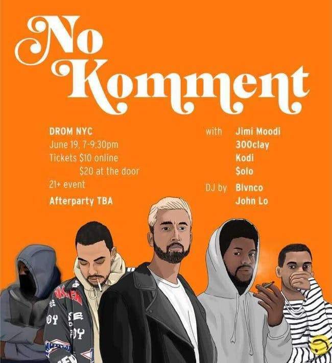No Komment & Special Guests