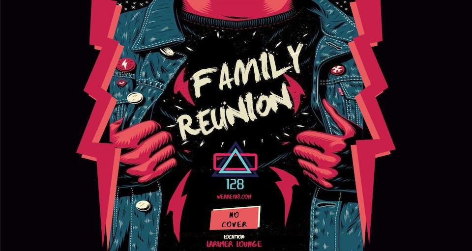 128 Family Reunion: Que / Steinhause / Critz