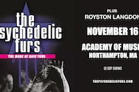 The Psychedelic Furs - Made Of Rain Tour 2021