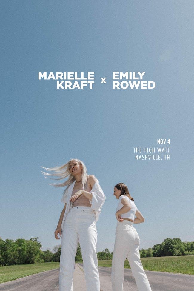 Marielle Kraft & Emily Rowed w/ Caroline Culver