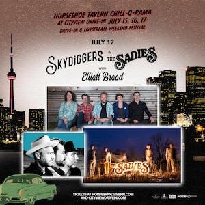 The Skydiggers & The Sadies
