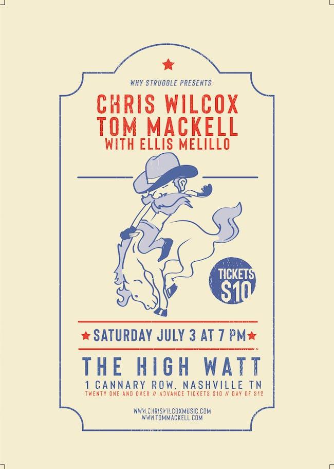 Chris Wilcox & Tom Mackell w/ Ellis Melillo