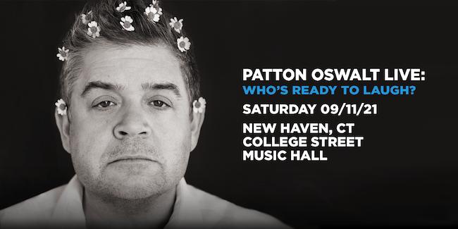 Patton Oswalt Live: Who's Ready To Laugh?