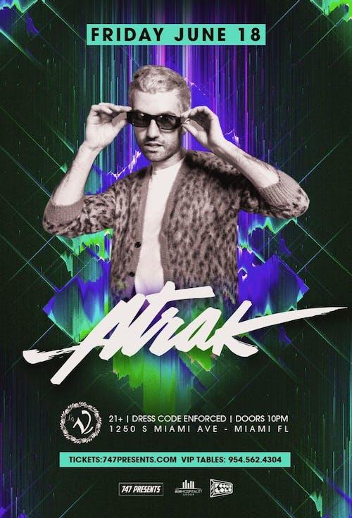 A-Trak at LA V Nightclub Miami 6/18