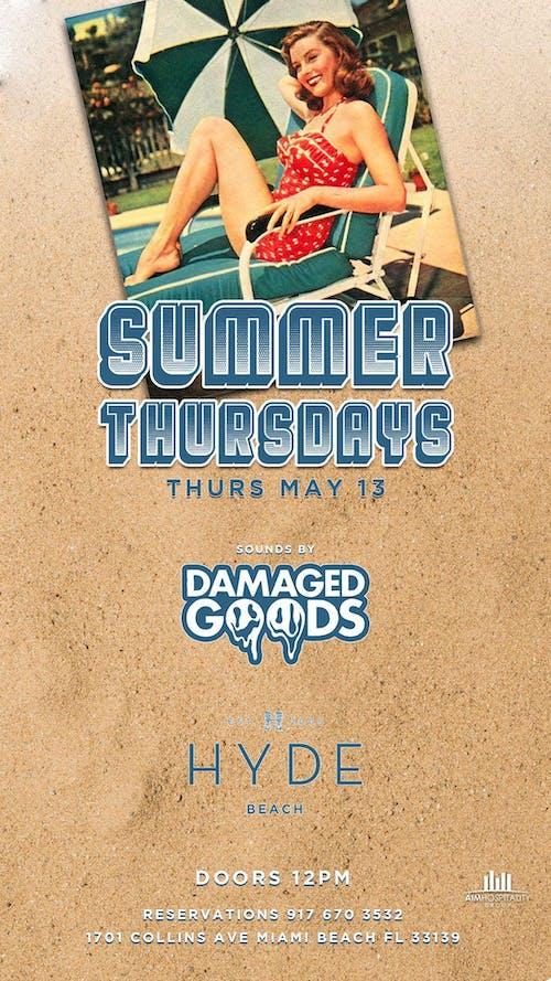 Summer Thursdays at Hyde Beach 6/10