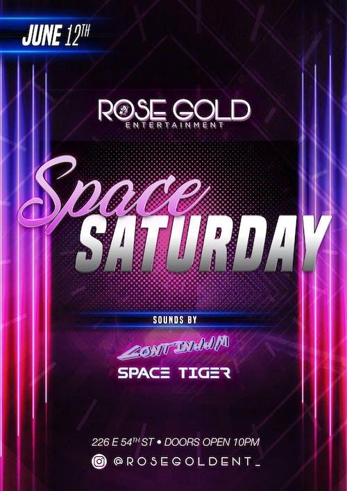 Space Saturdays 6/12