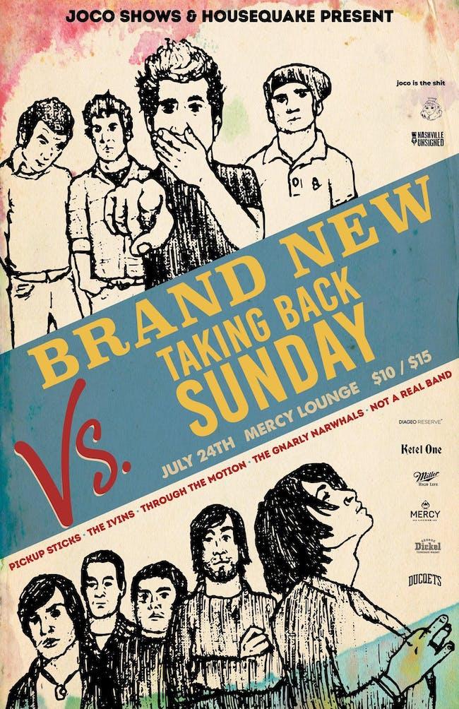 Brand New vs Taking Back Sunday Tribute