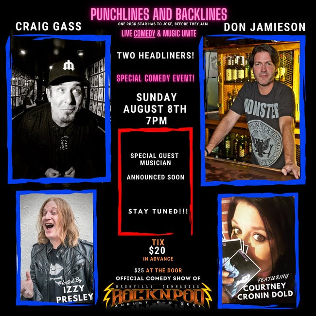 Punchlines and Backlines w/ Don Jamieson and Craig Gass