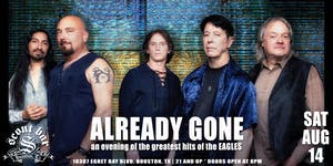 ALREADY GONE presents the greatest hits of the Eagles