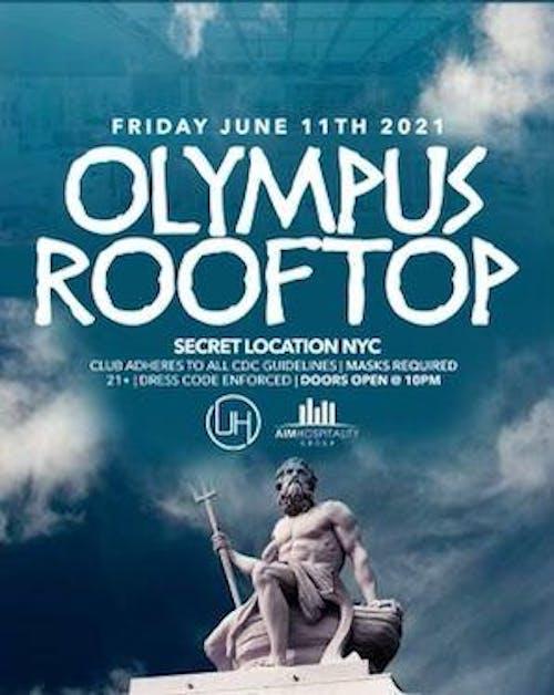 Olympus Rooftop Friday Night 6/11