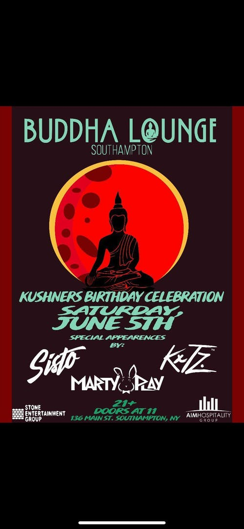 Buddha Lounge Southampton 6/26