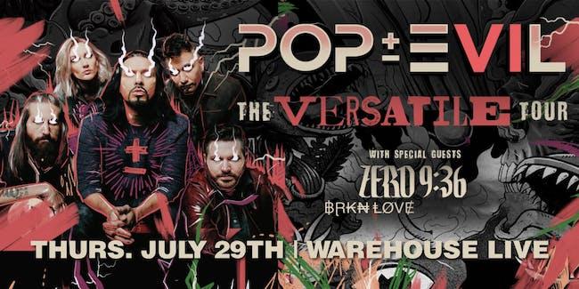 POP EVIL: VERSATILE TOUR