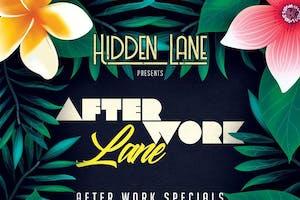 After Work Lane at Hidden Lane Thursday 6/16