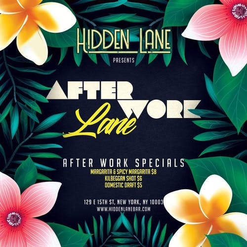 After Work Lane at Hidden Lane Wednesday 6/16