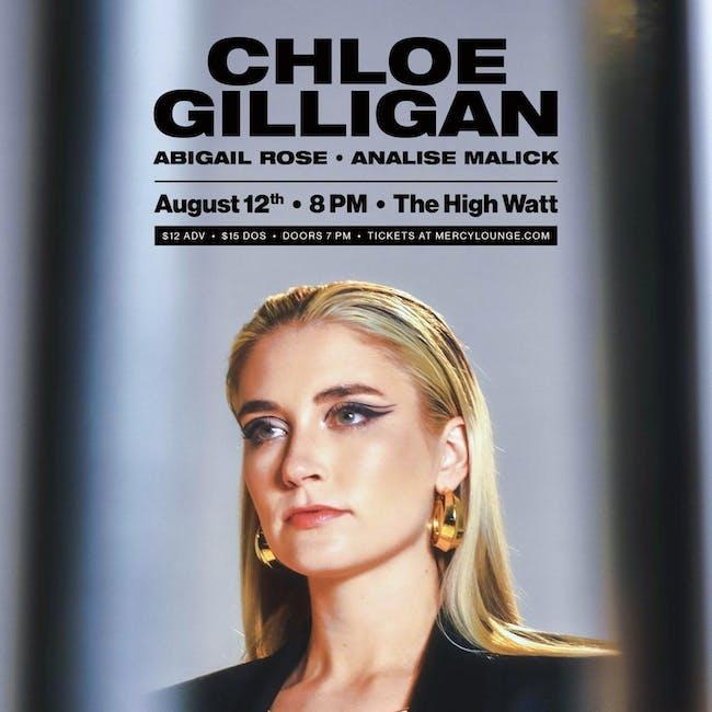 Chloe Gilligan w/ Abigail Rose & Analise Malick