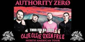 Authority Zero - Ollie Ollie Oxen Free Tour