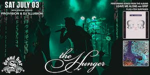 THE HUNGER live in concert