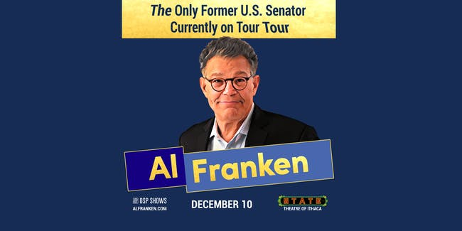 Al Franken: The Only Former U.S. Senator Currently on Tour Tour