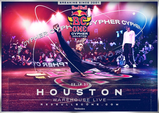 RED BULL BC ONE CYPHER HOUSTON
