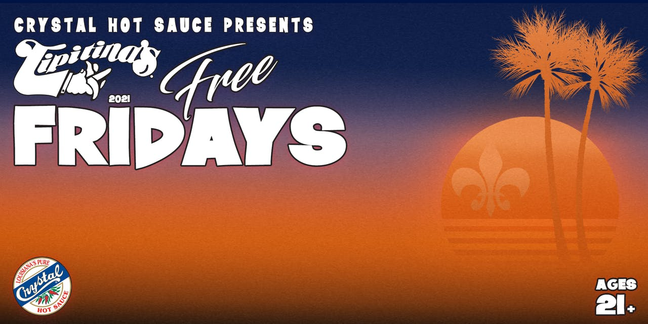 Free Fridays Featuring The New Orleans Suspects