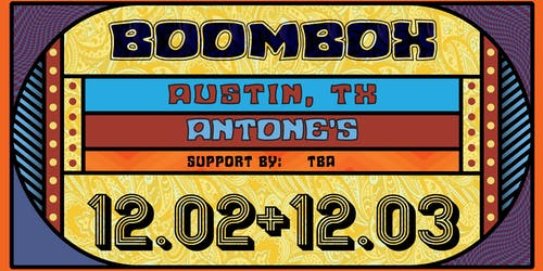 BoomBox w/ ETHNO (Jeff Franca of Thievery Corporation)