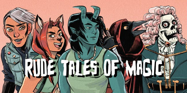 Rude Tales of Magic LIVE!