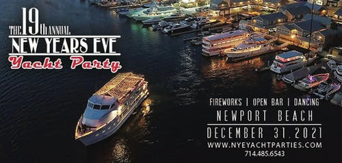 New Year's Eve Yacht Party - Newport Beach