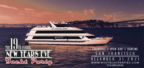 New Year's Eve Yacht Party - San Francisco