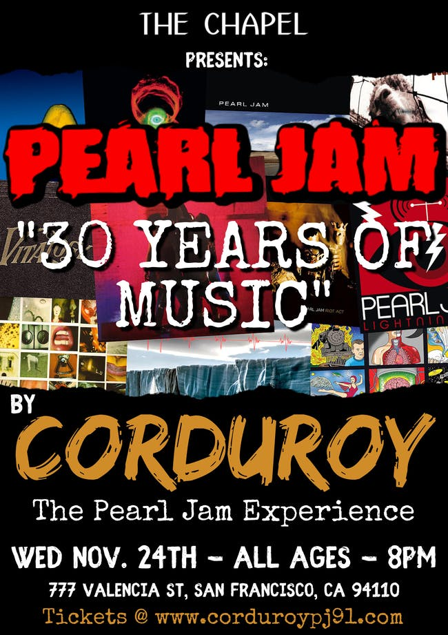 Corduroy - The Pearl Jam Experience