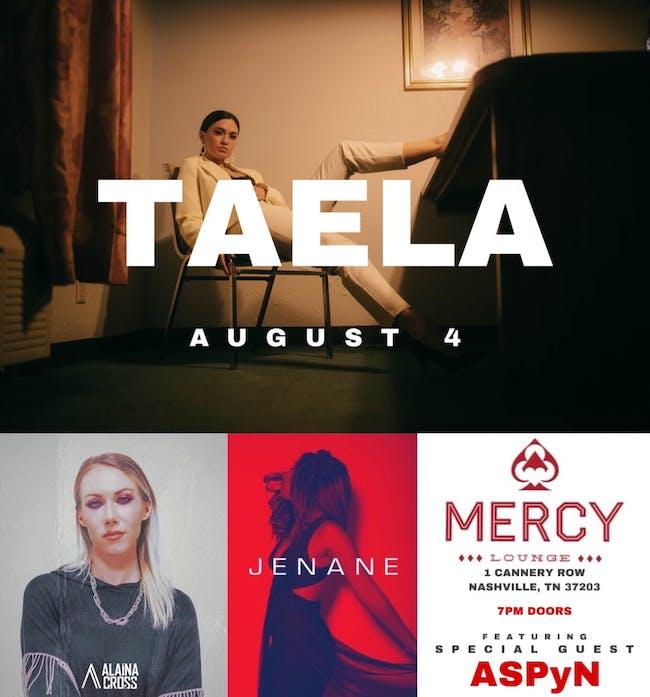 Taela, Alaina Cross, and Jenane