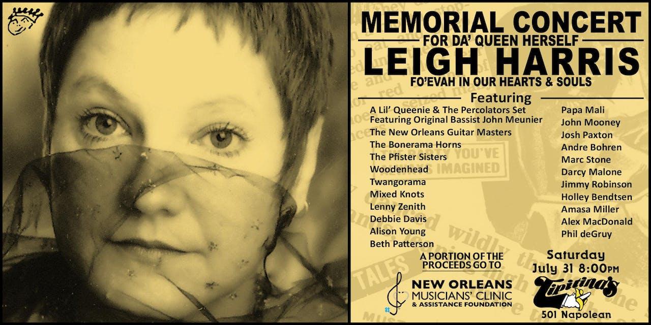 Leigh Harris Memorial Concert