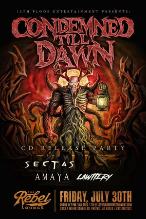Condemned Till Dawn Cd Release