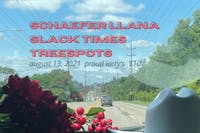 Schaefer Llana with Slack Times and treespots