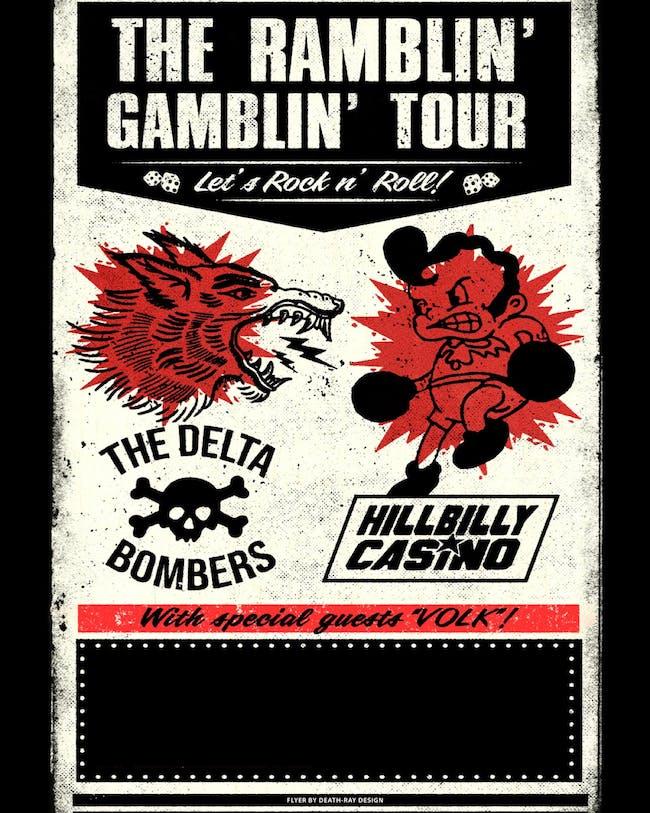 The Delta Bombers / Hillbilly Casino / Volk