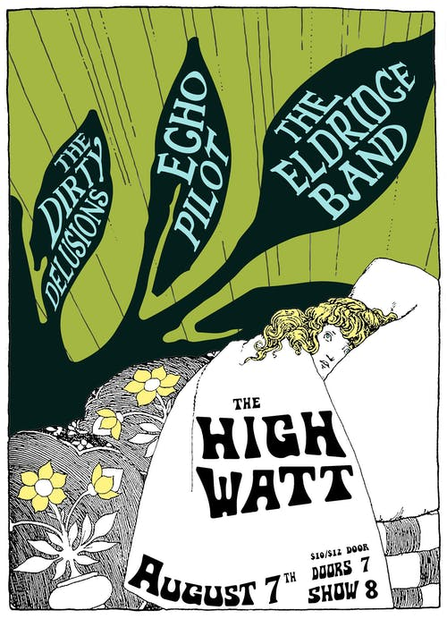 Echo Pilot, The Eldridge Band, & The Dirty Delusions