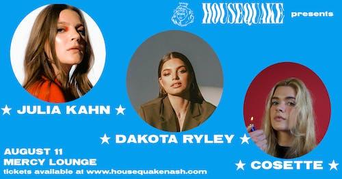 Julia Kahn, Dakota Ryley, & Cosette