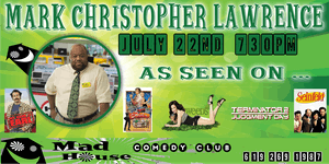 Mark Christopher Lawrence as seen on NBC's Chuck, My Name is Earl and more!