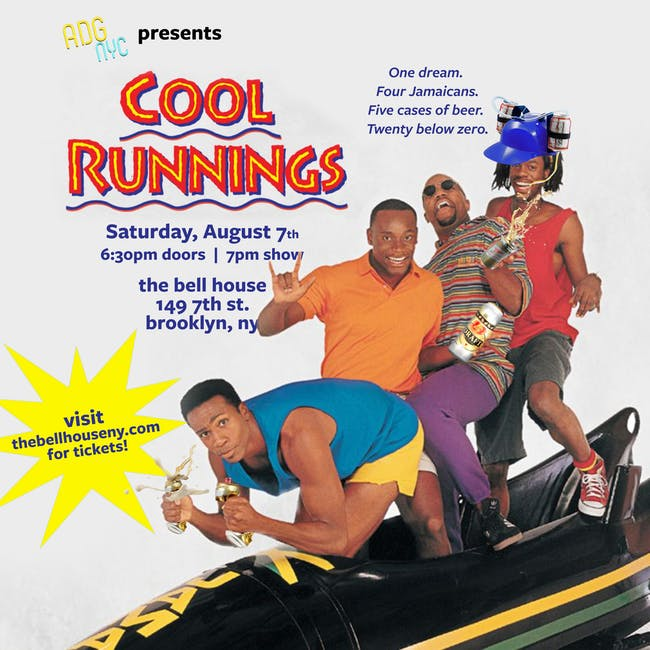 A Drinking Game NYC presents Cool Runnings
