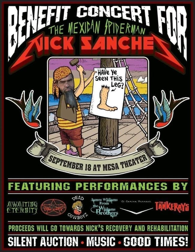 Nick Sanchez Benefit Concert