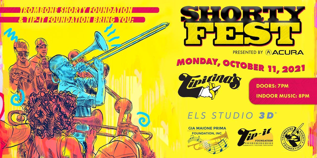 Trombone Shorty Foundation & Tip-it Foundation Bring You: SHORTY FEST