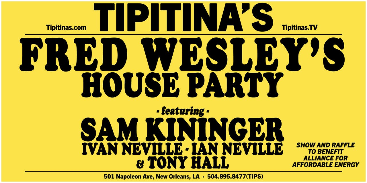Fred Wesley's House Party