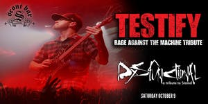 TESTIFY (Rage tribute) + DYSFUNCTIONAL (Staind tribute)