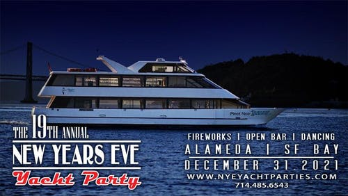 New Year's Eve Yacht Party - Alameda | SF BAY