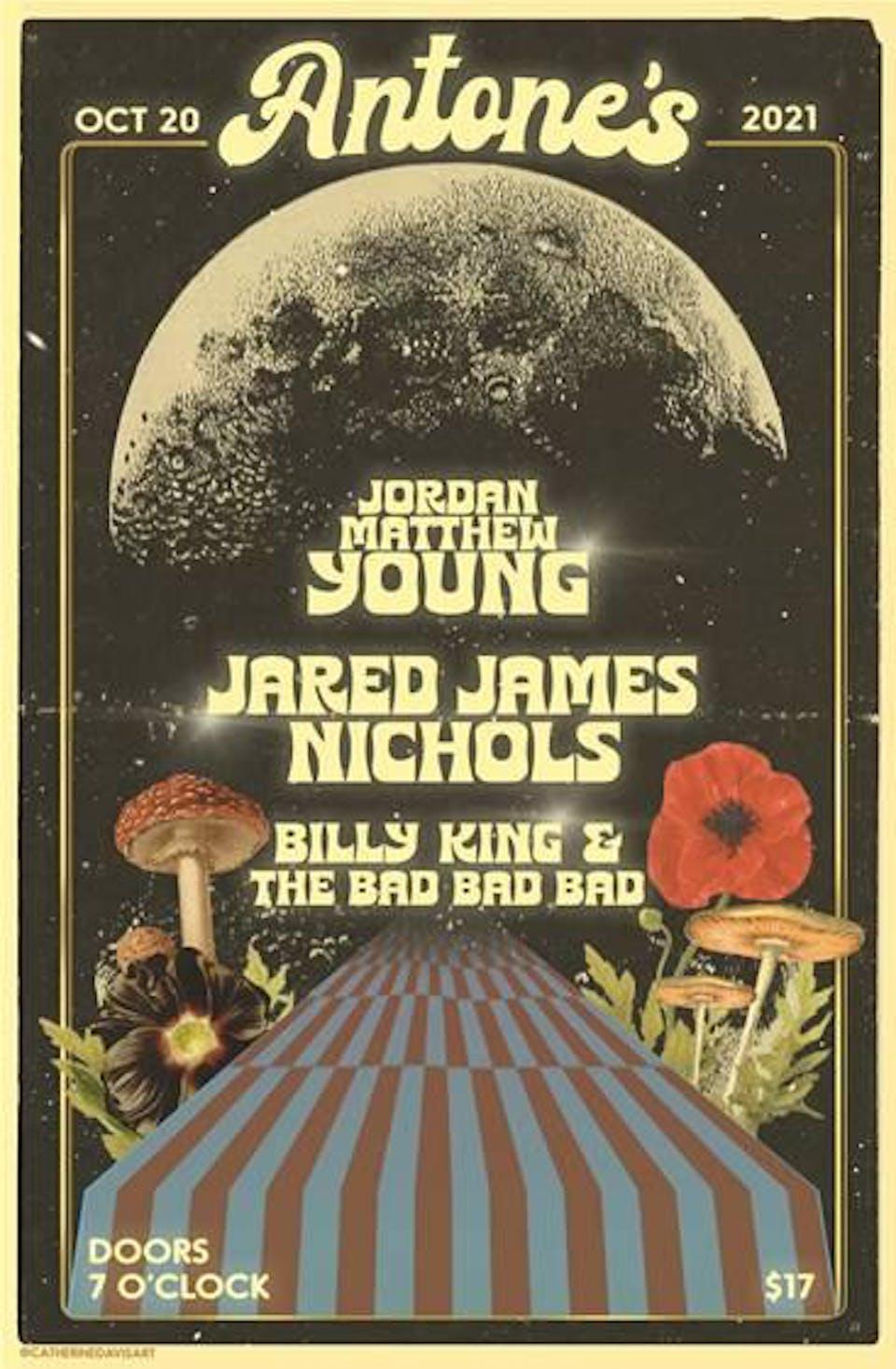 Jordan Matthew Young w/ Jared James Nichols & Billy King & the Bad Bad Bad